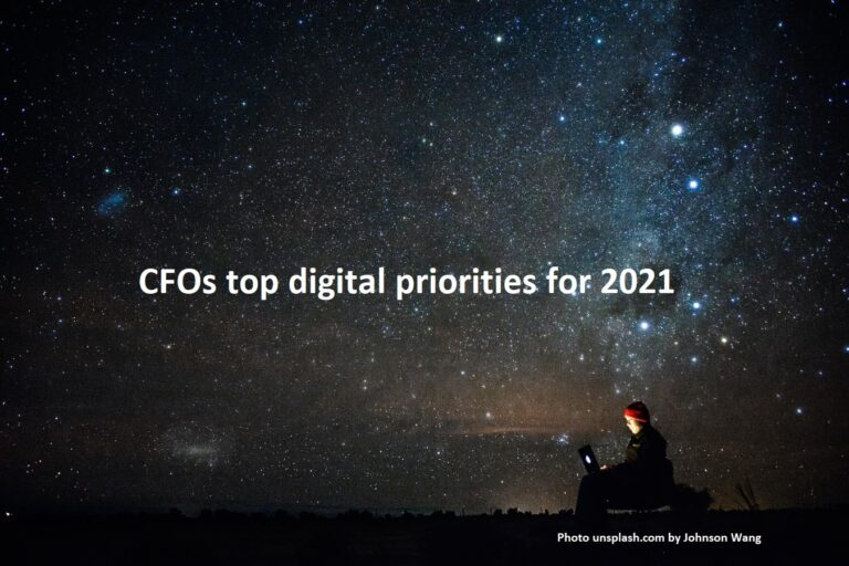 Najważniejsze priorytety cyfrowe CFO na 2021 r.